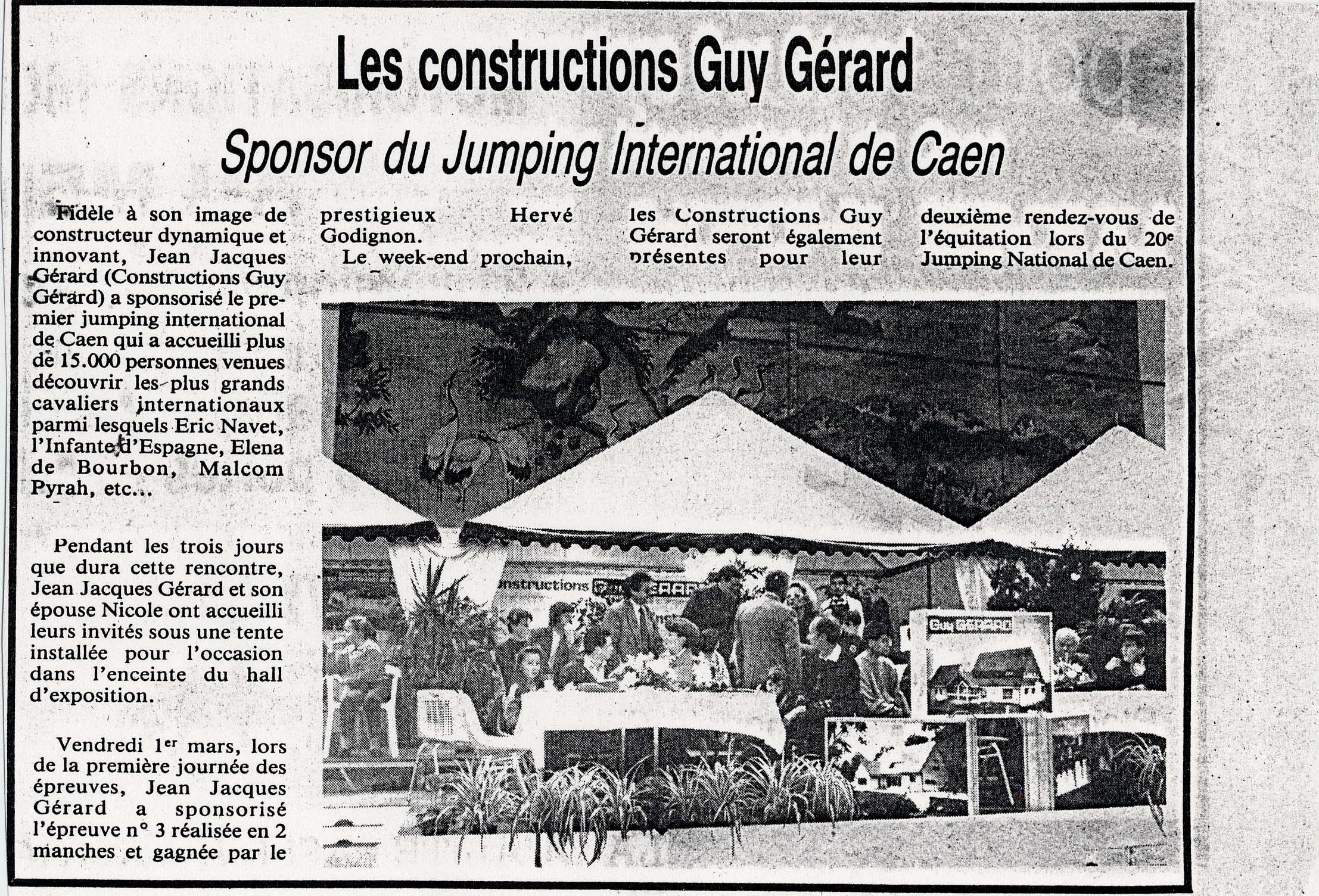 Coupures de presse - Jumping Internationnal
