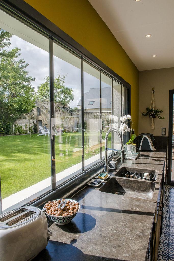 Maison personnalisée toit zinc