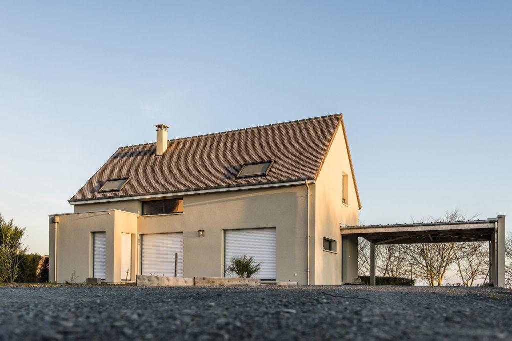 Maison contemporaine 2 pans