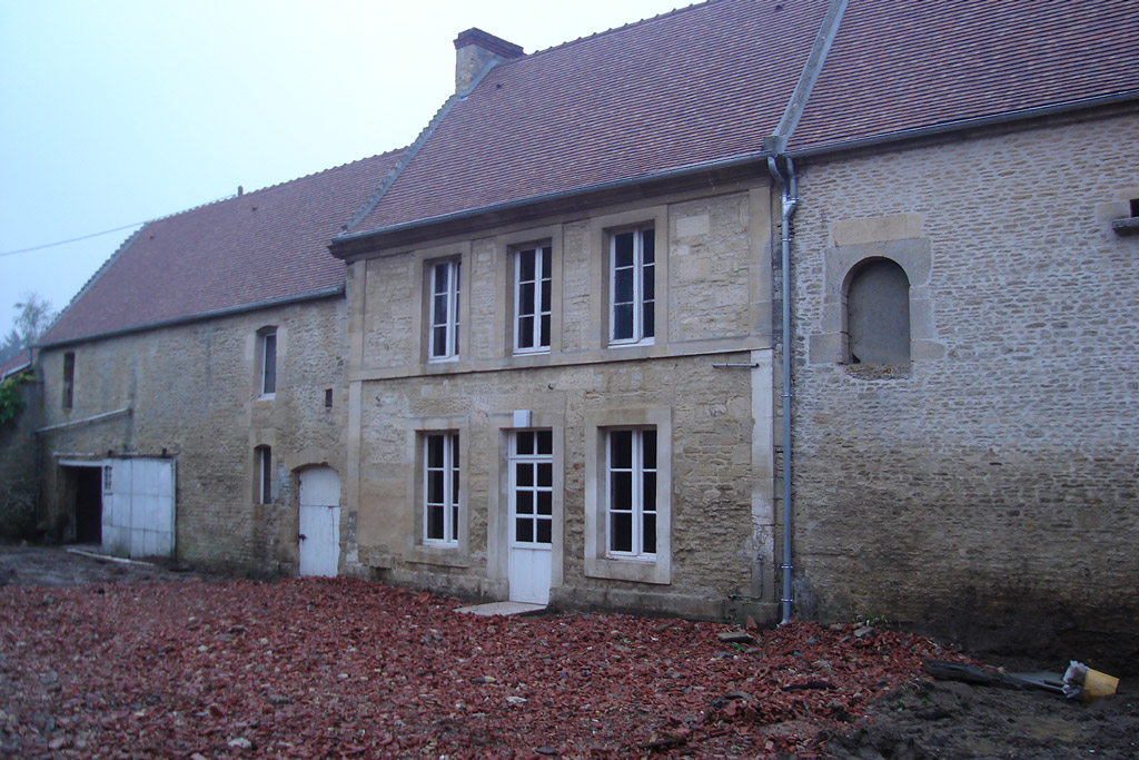 rénovation ferme