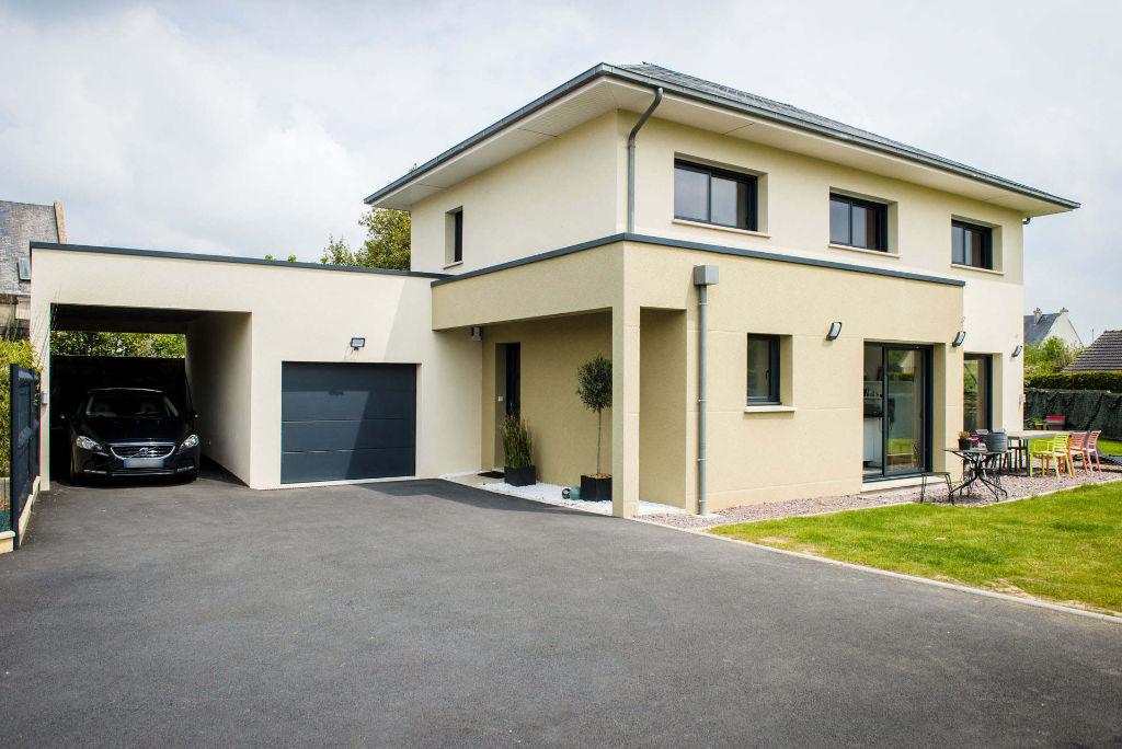 Maison moderne menuiseries aluminium