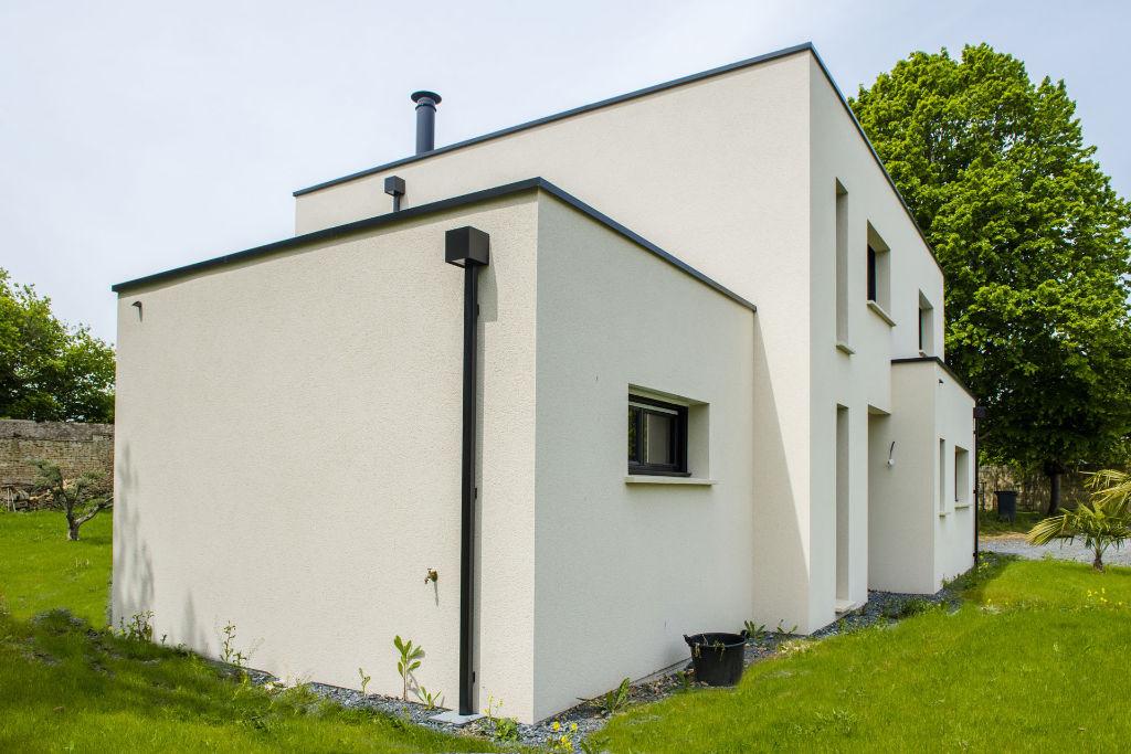 maison toit plat