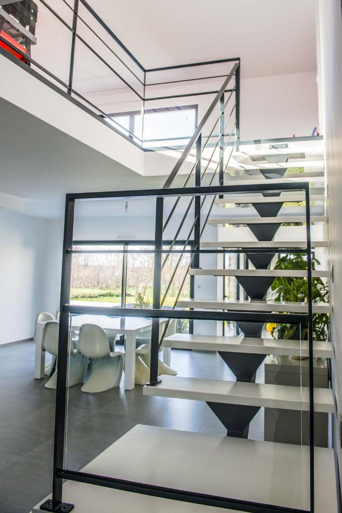 Maison moderne sur mesure