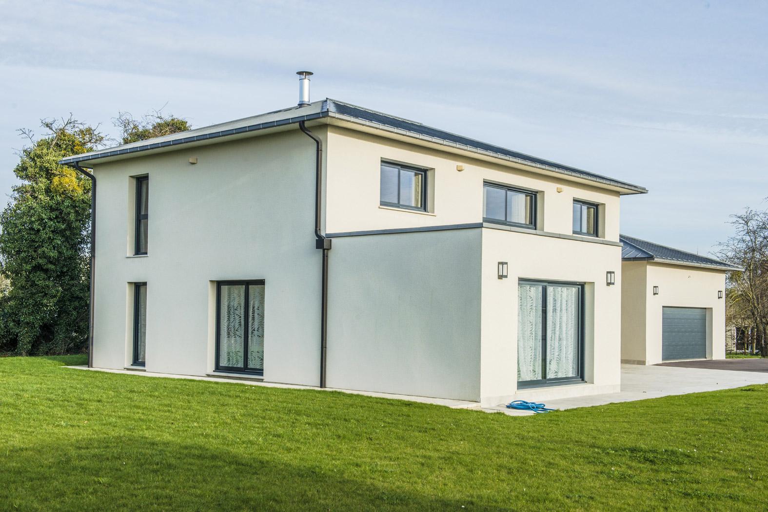 Maison sur mesure moderne
