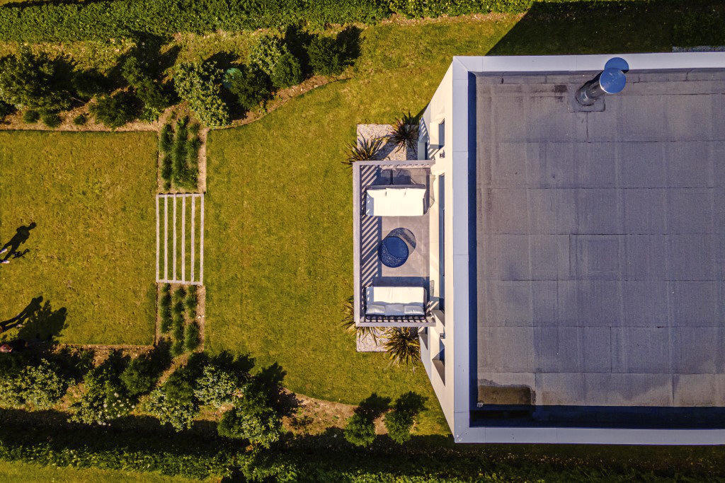 Maison individuelles toit plat